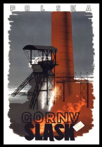 Vintage Travel Poster Gorny Slask Poland